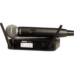 Microphone HF Shure SM 58/GLDX24